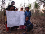facilitating to CCDRR (Child centered Disaster Risk Reduction) in rural area