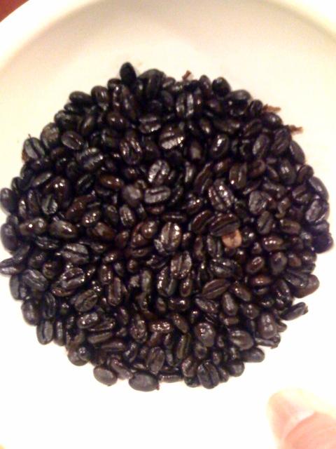 Coffee mandala