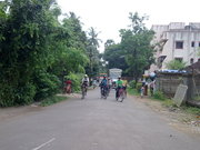 Alibaug Inside roads