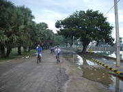 Early morning  cycling in Jaffna(Monday 22-10-2012)