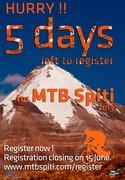 5 Days left to register