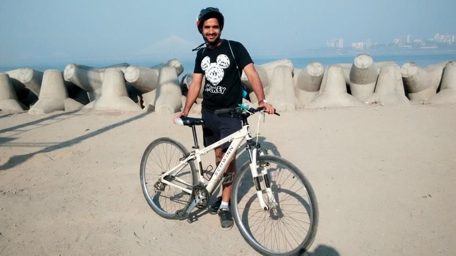 Pawankumar Cyclist
