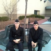 axel and jesse at gurnnee mills this week