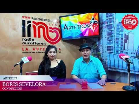 Entrevista a la artista Fiorella Gutiérrez en Radio Miraflores (Artética