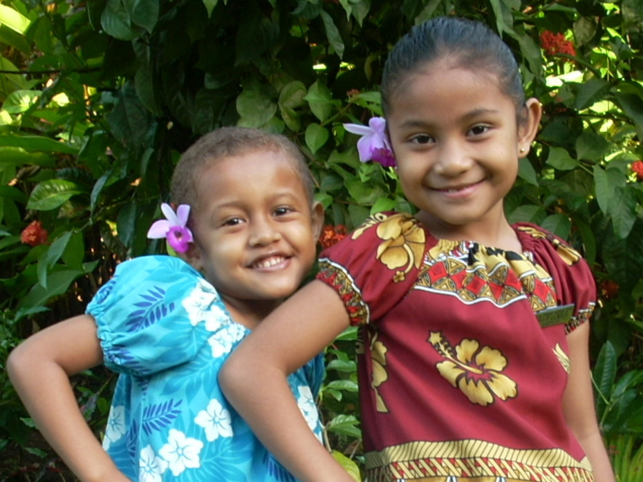 Tita and Silipa...My Beautiful Nieces.