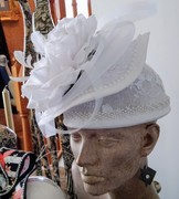 White Hat w/Flare (Back)