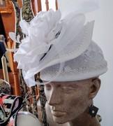 White Hat w/Flare (Back)