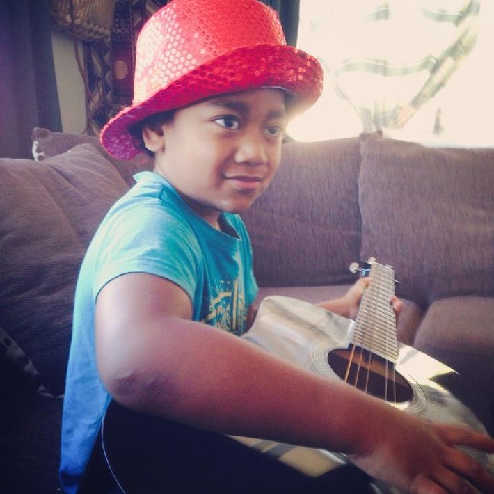 My youngest boy Israel my baby bear