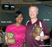 Rosalyn Carolina & Jeff Shaw - 1st Place
