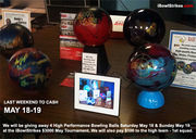 Win a High Performance Bowling Ball May 18-19