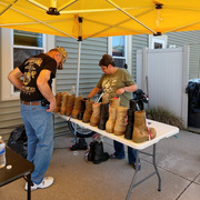 Memorial Boot Display Repairs 5/19