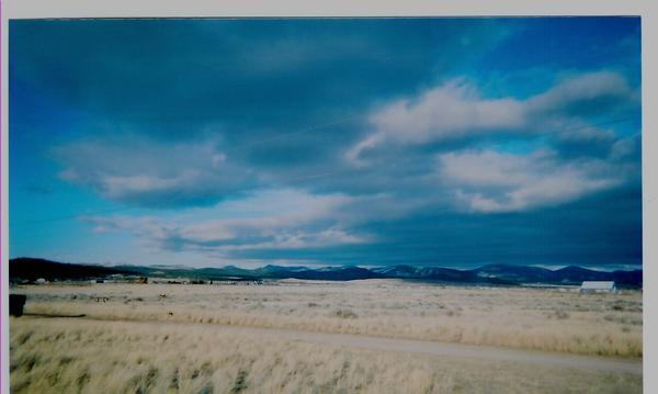 Big sky country out my front window