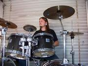 me drumming again