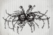 Flying Spaghetti Monster (Typograghic)