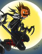 KH2 Sora- Halloweentown