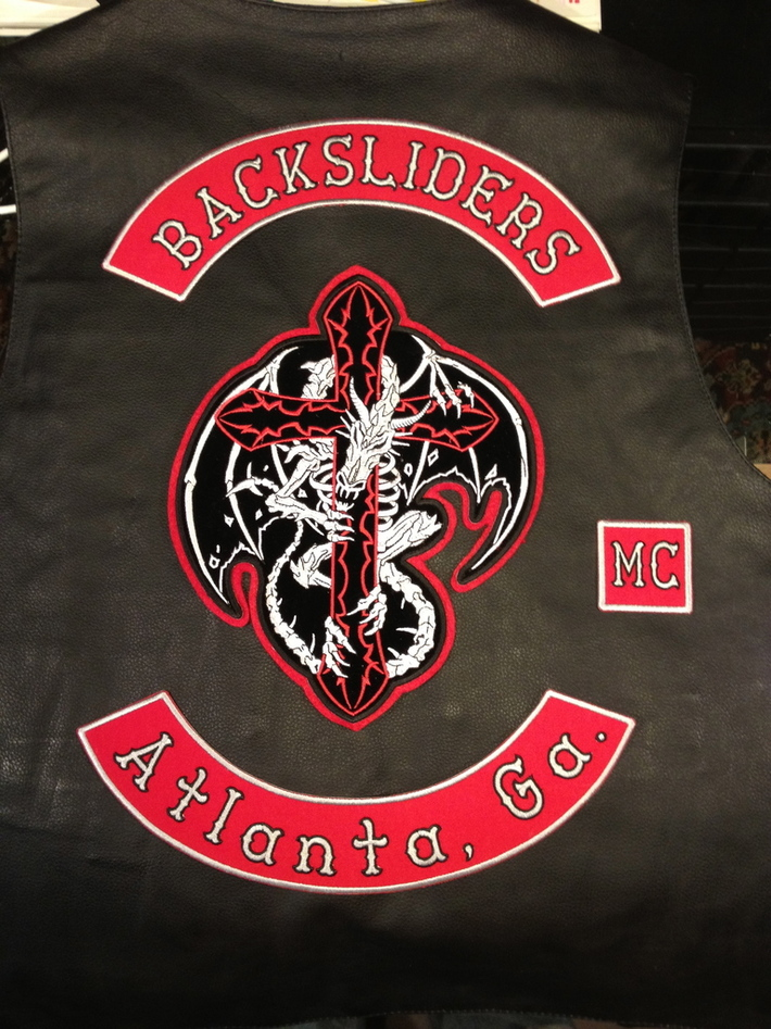 Athiest Motorcycle Club vest