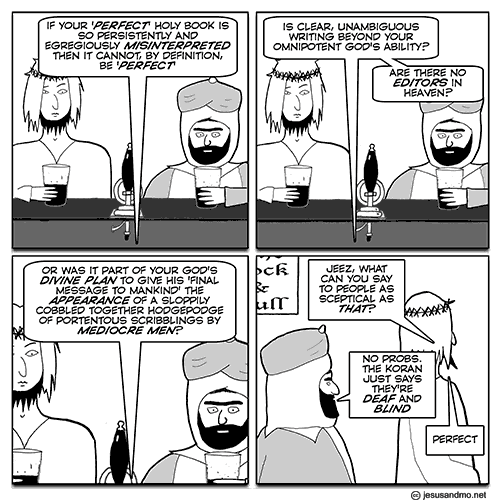 Jesus and Mo - Perfect Bible?