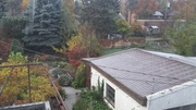 2015-10-28 Back yard from 2nd floor window by Cary