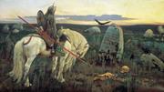 Um Cavaleiro na Encruzilhada- Vasnetsov