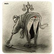 A Justiça (por Angeli)