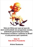 Voto em Dilma...