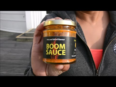 "INSPIRED IN TRINDAD : WORTHING ""BOOM""  HOT SAUCE"