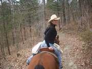 Trailriding Red Oak!