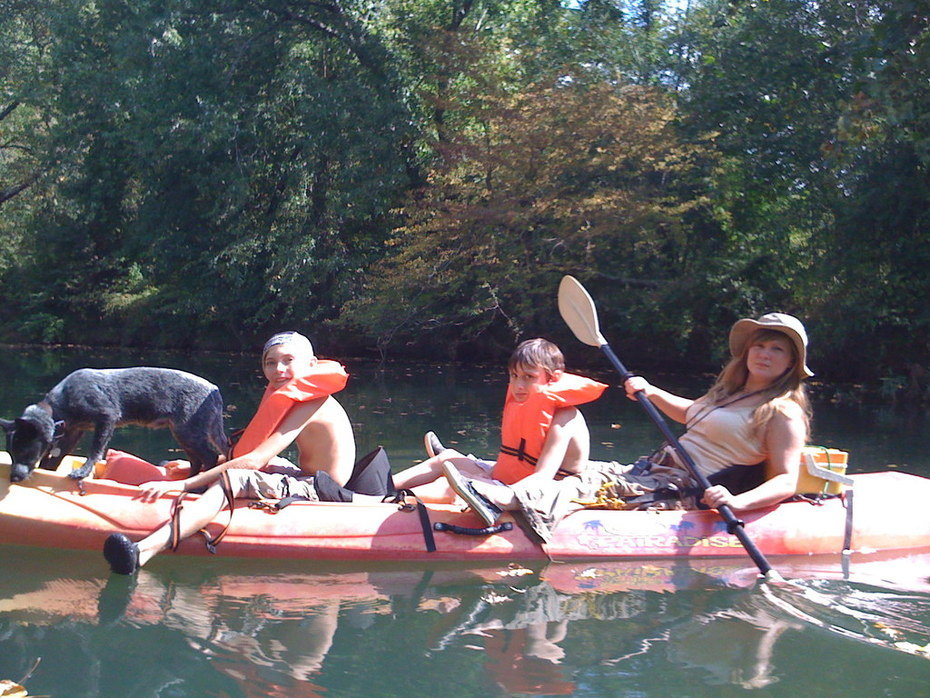 Our Sit on Top Kayaks