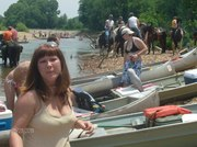 Trail Ride and Float the River AT MANY CEDARS!