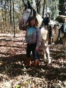 Seeka and I at Many Cedars