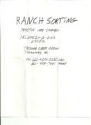 Ranch Sorting 11312 001