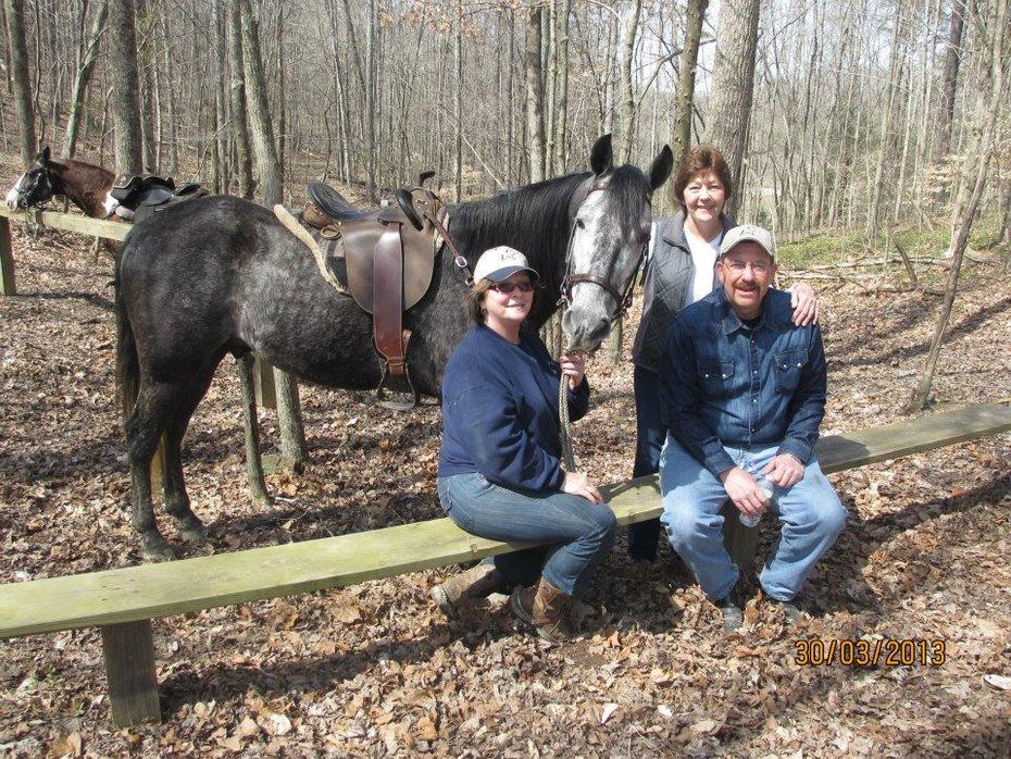 Me, Cutter, Rita and Rodney