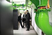 On-site visit LOEWE CSC - High Performance Computing Data Center