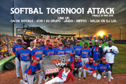 Softbal toernooi Attack Line up