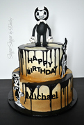 Bendy & The Ink Machine Cake