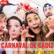 CARNAVAL DE CADIZ. 28 DE FEBRERO AL 1 DE MARZO. ULTIMAS PLAZAS