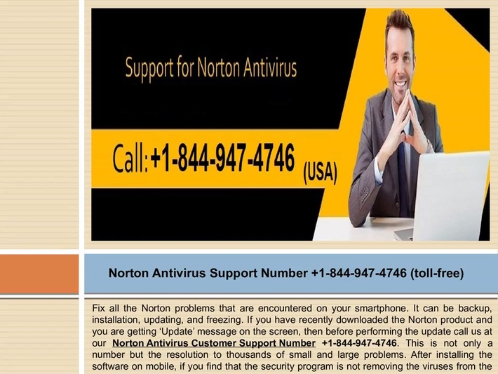 Call us at +1-844-947-4746 Norton 360 customer service phone number