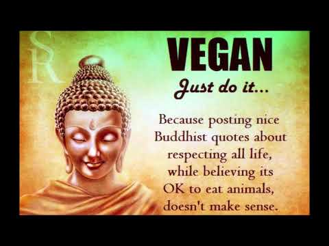 Various Spiritual Quotes Followed by Two of the World's Oldest Passages Referring to Being VEGAN