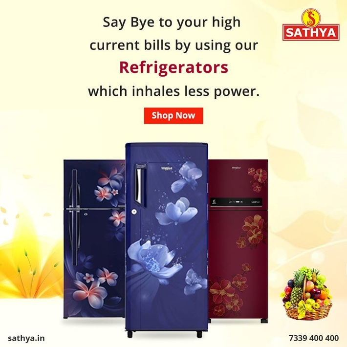 Buy Refrigerator Online - Sathya Online Shopping