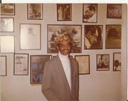 UNCLE SONNY GREER AT HIS APARTMENT NYC