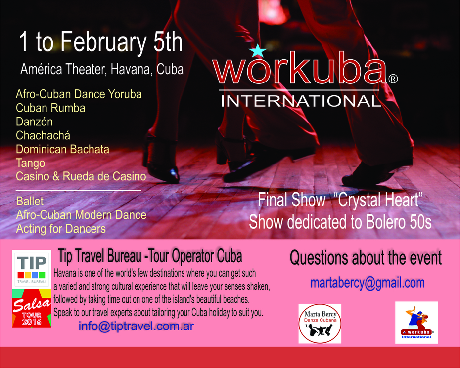 Workuba International Havana 2017