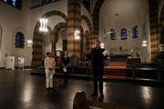 Acto inaugural de la expo Kunst & Religion