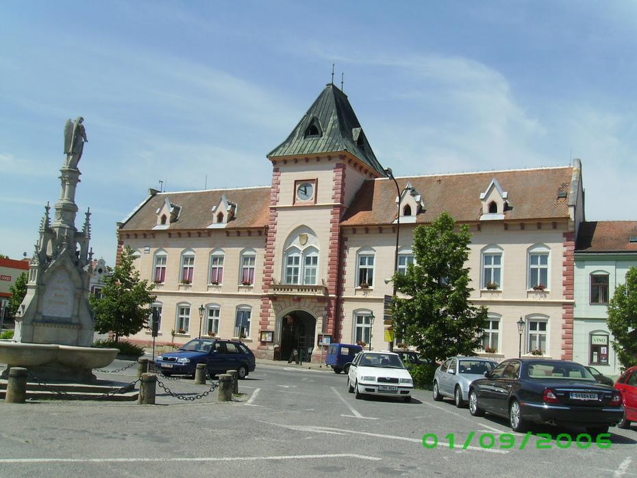 Lednice - Rathaus