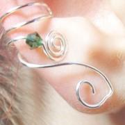 Emerald Goddess Ear Cuff