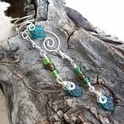 Emerald Forest Fairy Ear Cuff dangle