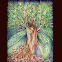 tree-spiritsoriginal-watercolour-painting