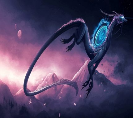 Black Hole Dragon Light Body
