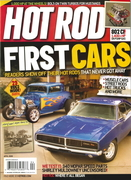 My car in Hot Rod magazine