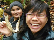 Students from Lairon Elementary at Uvas Canyon Co. Park, San Jose, CA