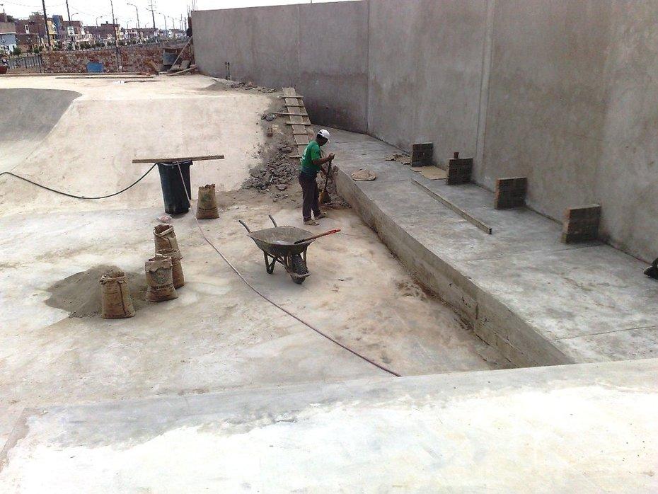TERMINANDO LA CONSTRUCCION